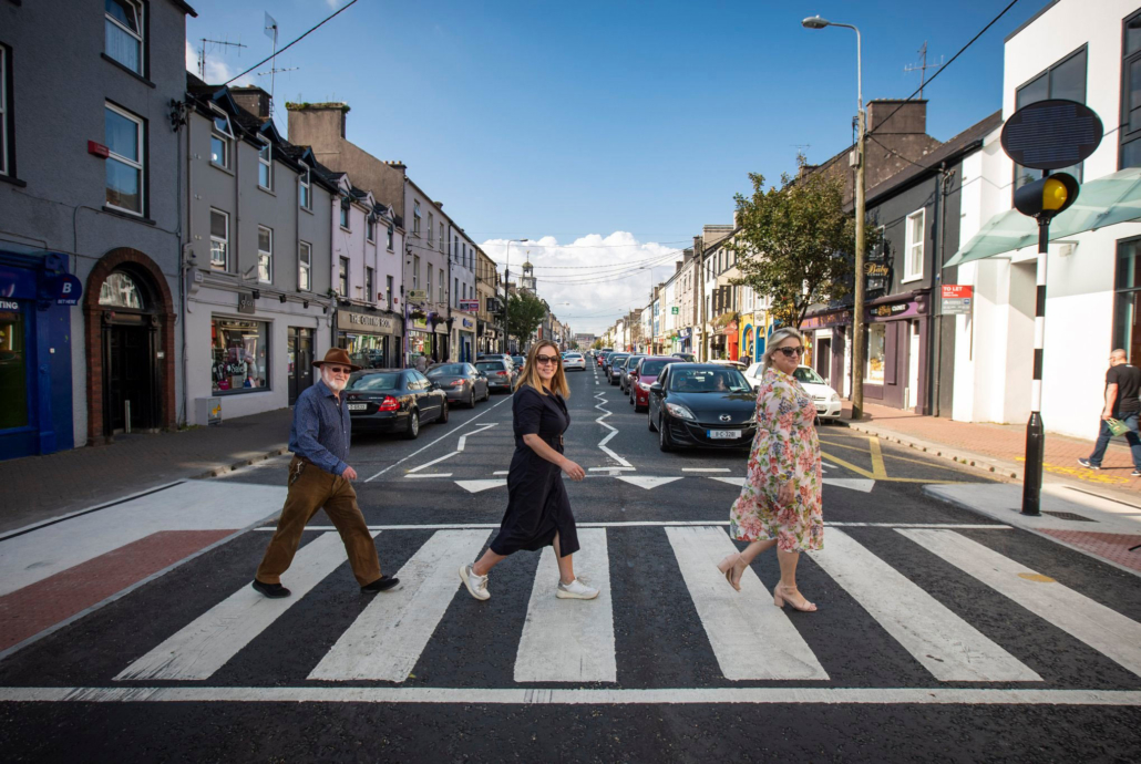 Mayoral Visit to Midleton to see Project ACT Measures