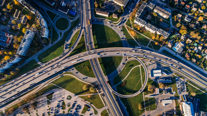 Large sprawling junction