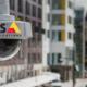 Dome CCTV security camera